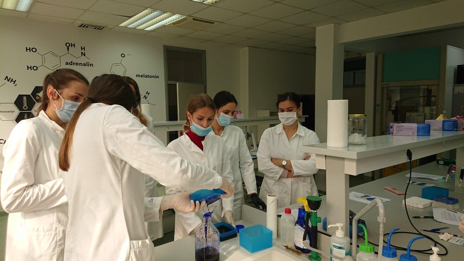 "Prilog o radionicama provedenim u sklopu seminara ""Primjena rekombinantne DNA tehnologije u biotehnologiji"