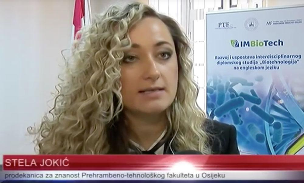 Studij biotehnologije na engleskom jeziku (PTF Osijek) - Osječka televizija